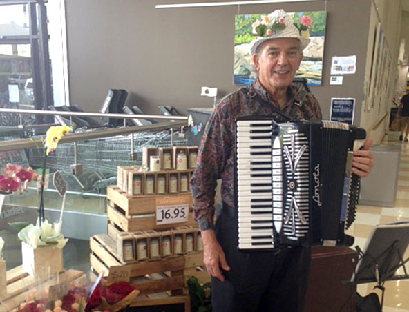 Adelaide Piano Accordion Player Photos - Accordion Players Adelaide